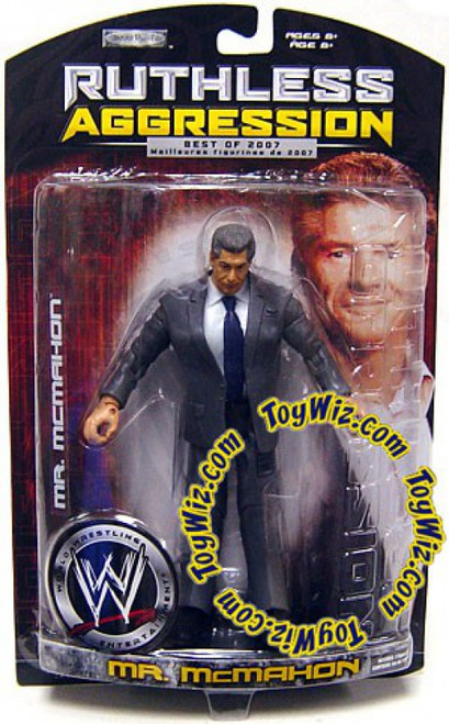 WWE Wrestling Ruthless Aggression Best of 2007 Series 2 Mr. McMahon Action Figure
