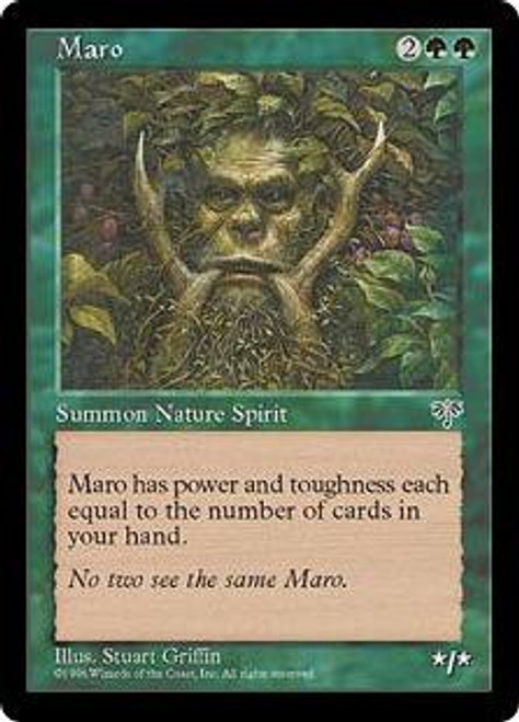 MtG Mirage Rare Maro [Slightly Played Condition]