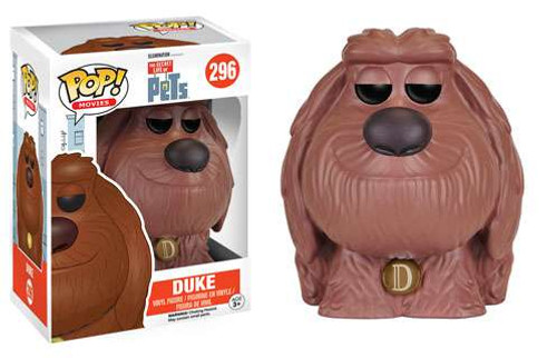 Funko The Secret Life of Pets POP! Movies Duke Vinyl Figure #296