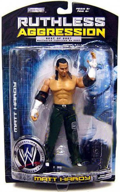WWE Wrestling Ruthless Aggression Best of 2007 Series 2 Matt Hardy Action Figure