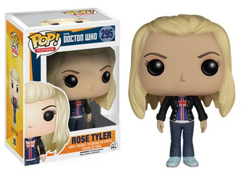 Funko Doctor Who POP! TV Rose Tyler Vinyl Figure #295