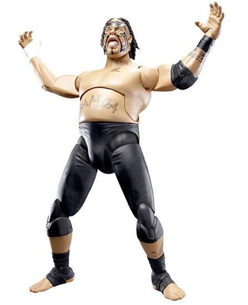 WWE Wrestling Deluxe Aggression Series 12 Umaga Action Figure