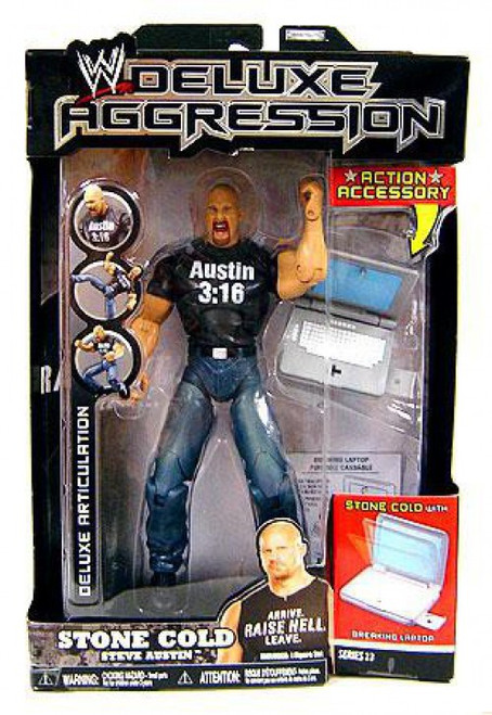 WWE Wrestling Deluxe Aggression Series 13 Stone Cold Steve Austin Action Figure
