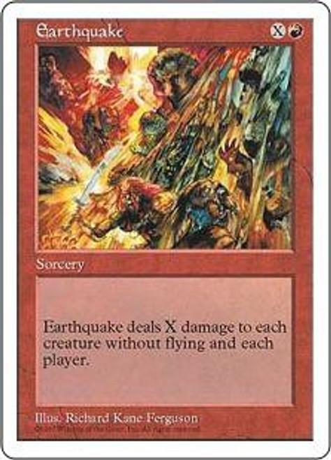 MtG 5th Edition Rare Earthquake