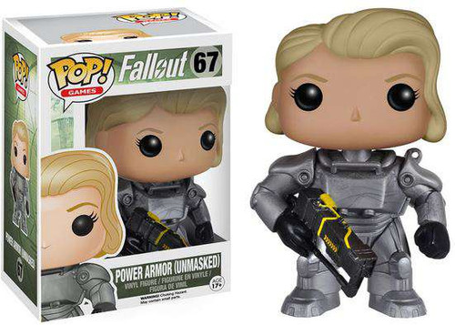 Funko Fallout POP! Games Power Armor Exclusive Vinyl Figure #67 [Unmasked Female]