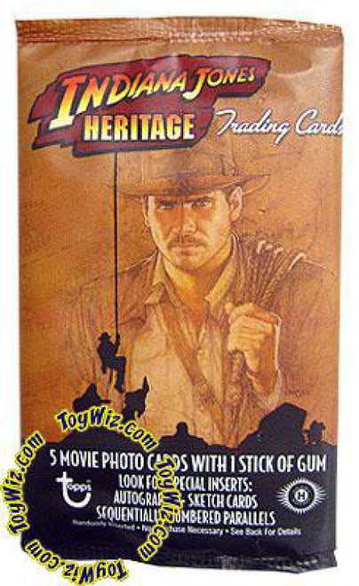 Topps Indiana Jones Heritage Trading Card Pack [Hobby Edition]