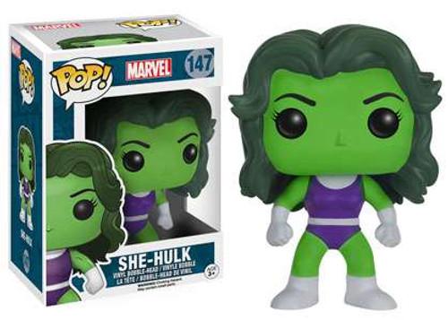 Funko POP! Marvel She-Hulk Vinyl Bobble Head #147