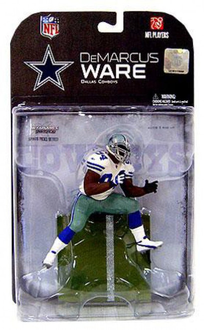 McFarlane Toys NFL Dallas Cowboys Sports Picks Series 18 DeMarcus Ware Action Figure