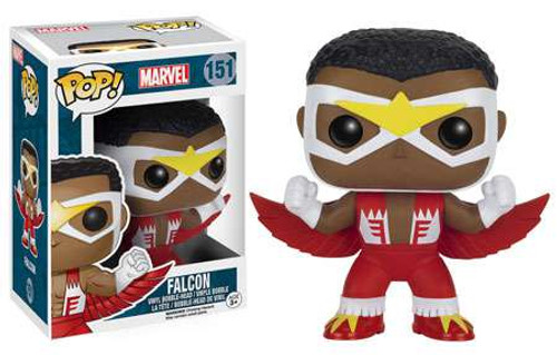 Funko POP! Marvel Falcon Vinyl Bobble Head #151 [Classic]