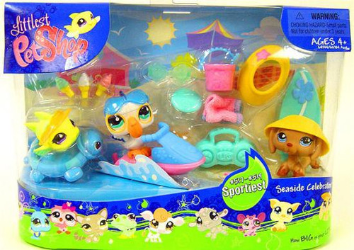 Littlest Pet Shop Seaside Celebration Playset