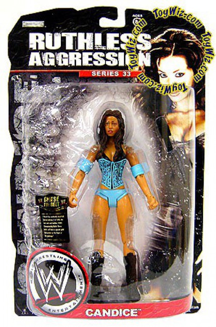 WWE Wrestling Ruthless Aggression Series 33 Candice Michelle Action Figure