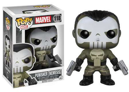 Funko POP! Marvel Nemesis Punisher Vinyl Bobble Head #118