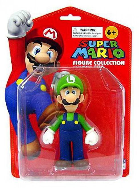 Super Mario Series 1 Luigi 5-Inch PVC Figure