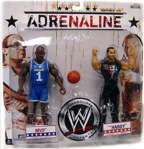 WWE Wrestling Adrenaline Series 29 MVP & Matt Hardy Action Figure 2-Pack