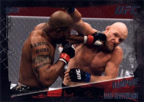 Topps UFC 2010 Championship Base Set Quinton Jackson #43