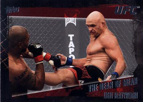 Topps UFC 2010 Championship Base Set Keith Jardine #26