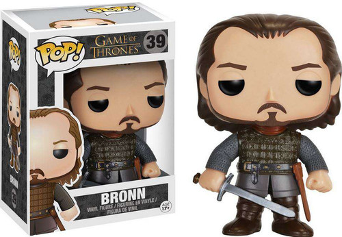 Funko Game of Thrones POP! TV Bronn Vinyl Figure #39