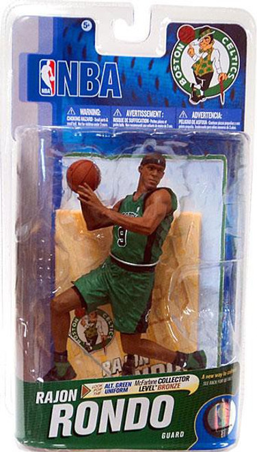 McFarlane Toys NBA Boston Celtics Sports Picks Series 19 Rajon Rondo Action Figure [Alternate Dark Green Jersey]