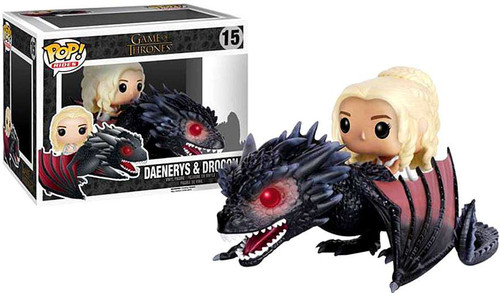 Funko Game of Thrones POP! Rides Daenerys & Drogon Vinyl Figure
