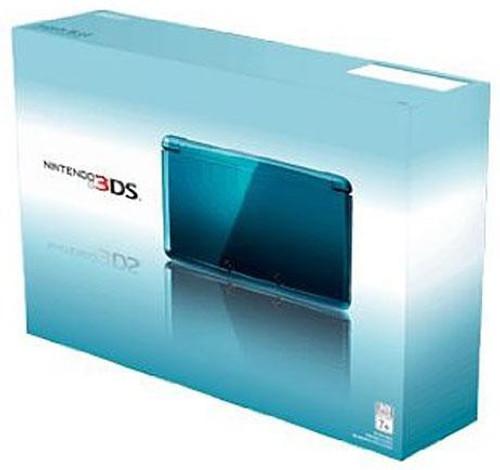 Nintendo 3DS Video Game Console [Aqua Blue]