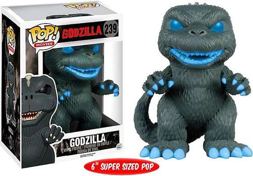 Funko POP! Movies Atomic Breath Godzilla Exclusive 6-Inch Vinyl Figure #239 [Super-Sized, Glow-in-the-Dark]