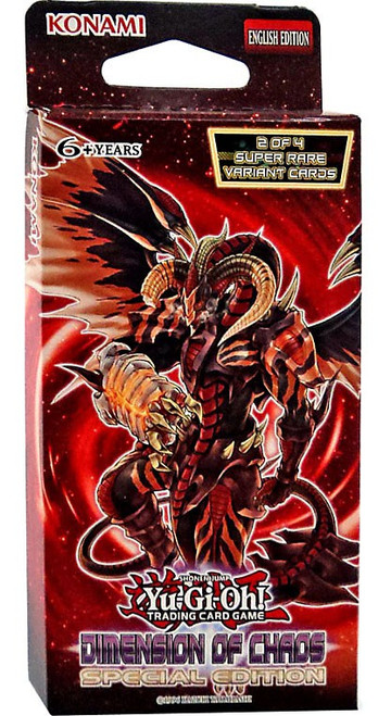 YuGiOh Trading Card Game Dimension of Chaos Special Edition