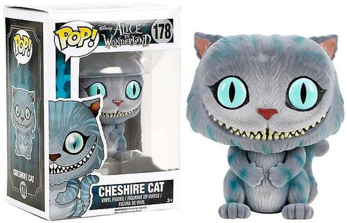 Funko Alice in Wonderland POP! Disney Cheshire Cat Exclusive Vinyl Figure #178 [Flocked]