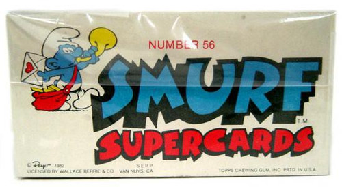 Topps 1982 The Smurfs Complete Set