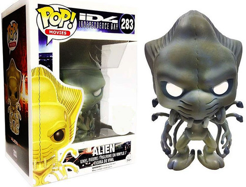 Funko Independence Day POP! Movies Alien Exclusive Vinyl Figure #283 [Blue / Gray]