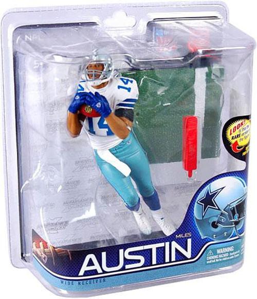 McFarlane Toys NFL Dallas Cowboys Sports Picks Series 27 Miles Austin Action Figure #14 [Jersey #14]