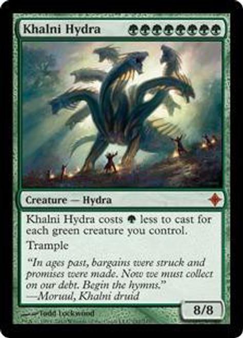 MtG Rise of the Eldrazi Mythic Rare Khalni Hydra #192
