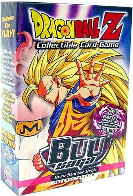 Dragon Ball Z Collectible Card Game Buu Saga Hero Starter Deck
