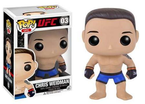 Funko UFC POP! Sports Chris Weidman Vinyl Figure #03