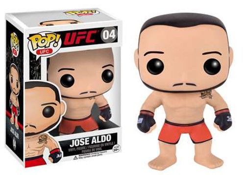 Funko UFC POP! Sports Jose Aldo Vinyl Figure #04