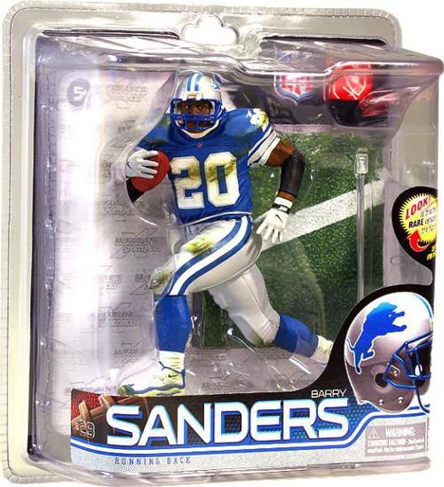McFarlane Toys NFL Detroit Lions Sports Picks Series 28 Barry Sanders Action Figure