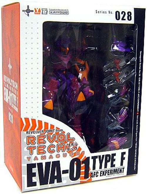 Neon Genesis Evangelion 2 Sci-Fi Revoltech EVA-01 Action Figure #028 [Type F AFC Experiment]