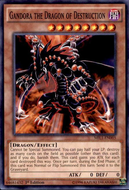 YuGiOh Millennium Pack Common Gandora the Dragon of Destruction MIL1-EN005