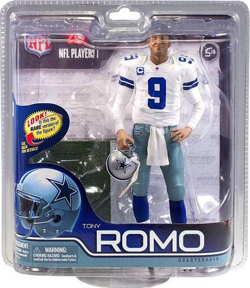 McFarlane Toys NFL Dallas Cowboys Sports Picks Series 29 Tony Romo Action Figure [White Jersey]