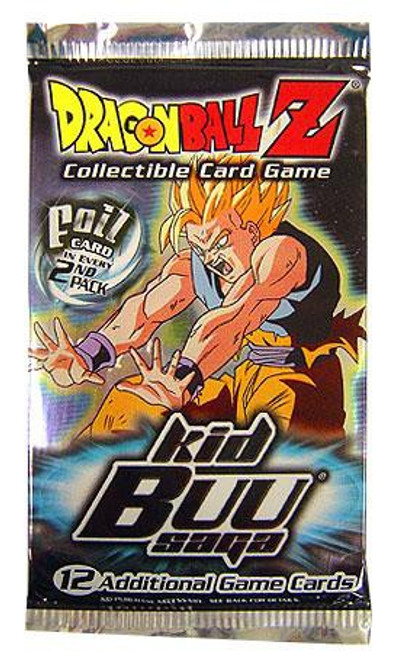 Dragon Ball Z Collectible Card Game Kid Buu Saga Booster Pack