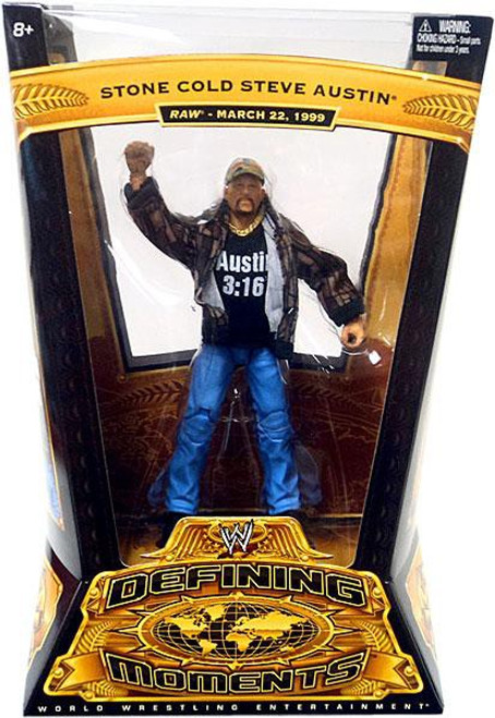 WWE Wrestling Defining Moments Series 4 Stone Cold Steve Austin Action Figure [Raw March 22, 1999]