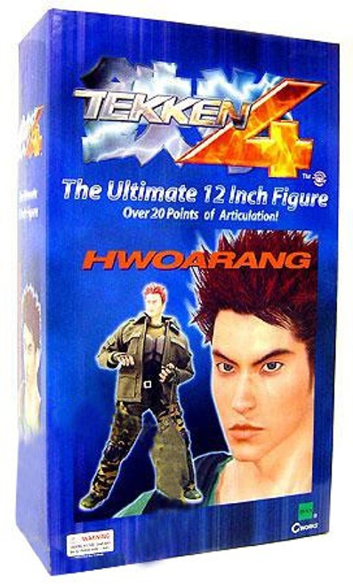 Tekken 4 Hwoarang 12-Inch Collectible Figure