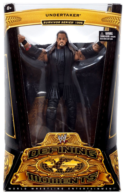 WWE Wrestling Defining Moments Series 4 Undertaker Action Figure