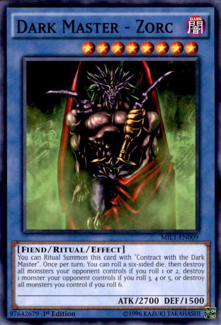 YuGiOh Millennium Pack Common Dark Master - Zorc MIL1-EN009