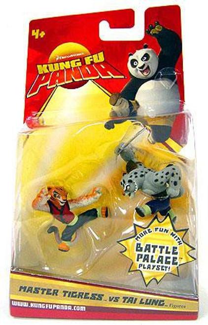 Kung Fu Panda Master Tigress vs. Tai Lung Mini Figure 2-Pack