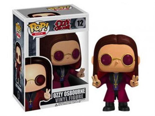 Funko POP! Rocks Ozzy Osbourne Vinyl Figure #12 [Damaged Package]