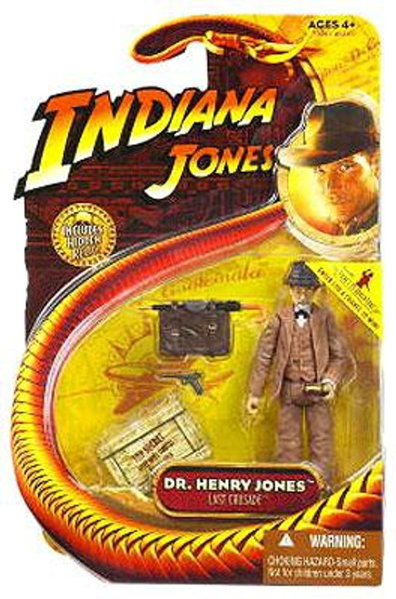 Indiana Jones The Last Crusade Series 3 Dr. Henry Jones Action Figure