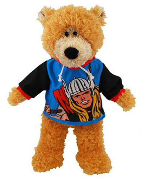 Bear with Thor Shirt 13-Inch Plush