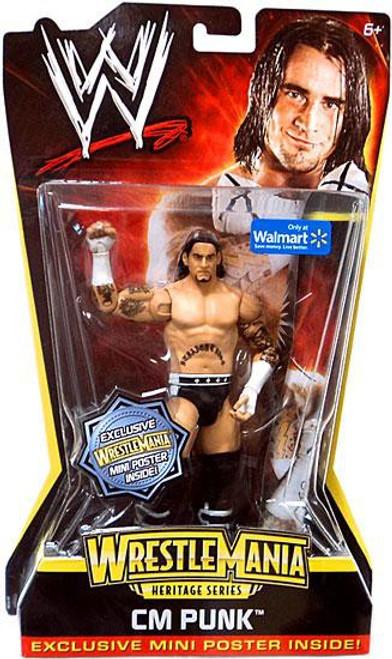 WWE Wrestling WrestleMania Heritage Series 2 CM Punk Exclusive Action Figure