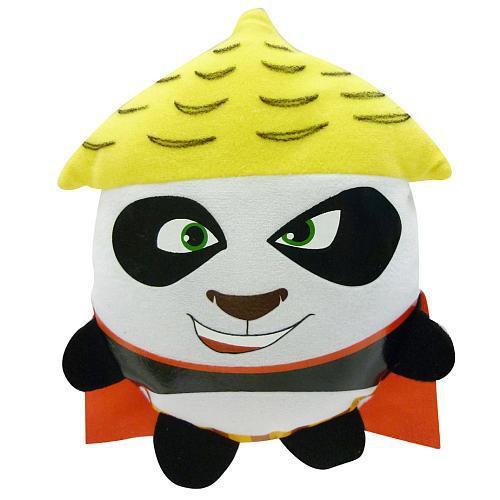Fisher Price Kung Fu Panda 2 Smack Talker Po Plush Figure [Dragon Warrior]