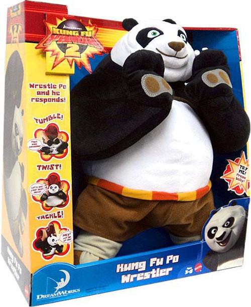 Kung Fu Panda 2 Kung Fu Po Wrestler Plush Figure